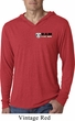 Dodge Hemi Pocket Print Lightweight Hoodie Shirt