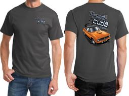 Dodge Plymouth Cuda Front & Back Shirts