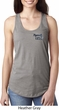 Dodge Plymouth Cuda Pocket Print Ladies Ideal Tank Top
