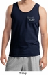 Dodge Plymouth Cuda Pocket Print Mens Tank Top