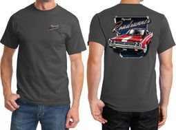 Dodge Plymouth Roadrunner Front & Back Shirts