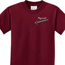 Dodge Plymouth Roadrunner Pocket Print Kids Shirts