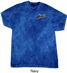 Dodge Plymouth Roadrunner Pocket Print Mineral Tie Dye Shirt