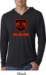 Dodge Ram Diamond Plate Logo Lightweight Hoodie Tee