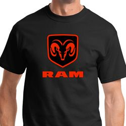 Dodge Ram Diamond Plate Logo Shirts