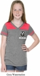 Dodge Ram Logo Pocket Print Girls Football Shirt