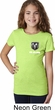 Dodge Ram Logo Pocket Print Girls Shirt