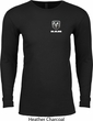 Dodge Ram Logo Pocket Print Long Sleeve Thermal Shirt