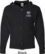 Dodge Ram Logo Pocket Print Mens Full Zip Hoodie