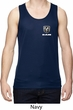 Dodge Ram Logo Pocket Print Mens Moisture Wicking Tanktop