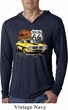 Dodge Route 66 Charger RT Lightweight Hoodie Shirt