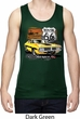 Dodge Route 66 Charger RT Mens Moisture Wicking Tanktop
