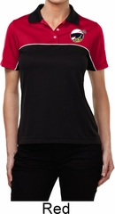 Dodge Scat Pack Logo Pocket Print Ladies Polo Shirt