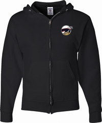 Dodge Scat Pack Logo Pocket Print Mens Full Zip Hoodie