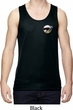 Dodge Scat Pack Logo Pocket Print Mens Moisture Wicking Tanktop