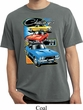 Dodge Shirt Challenger Trio Pigment Dyed Tee T-Shirt