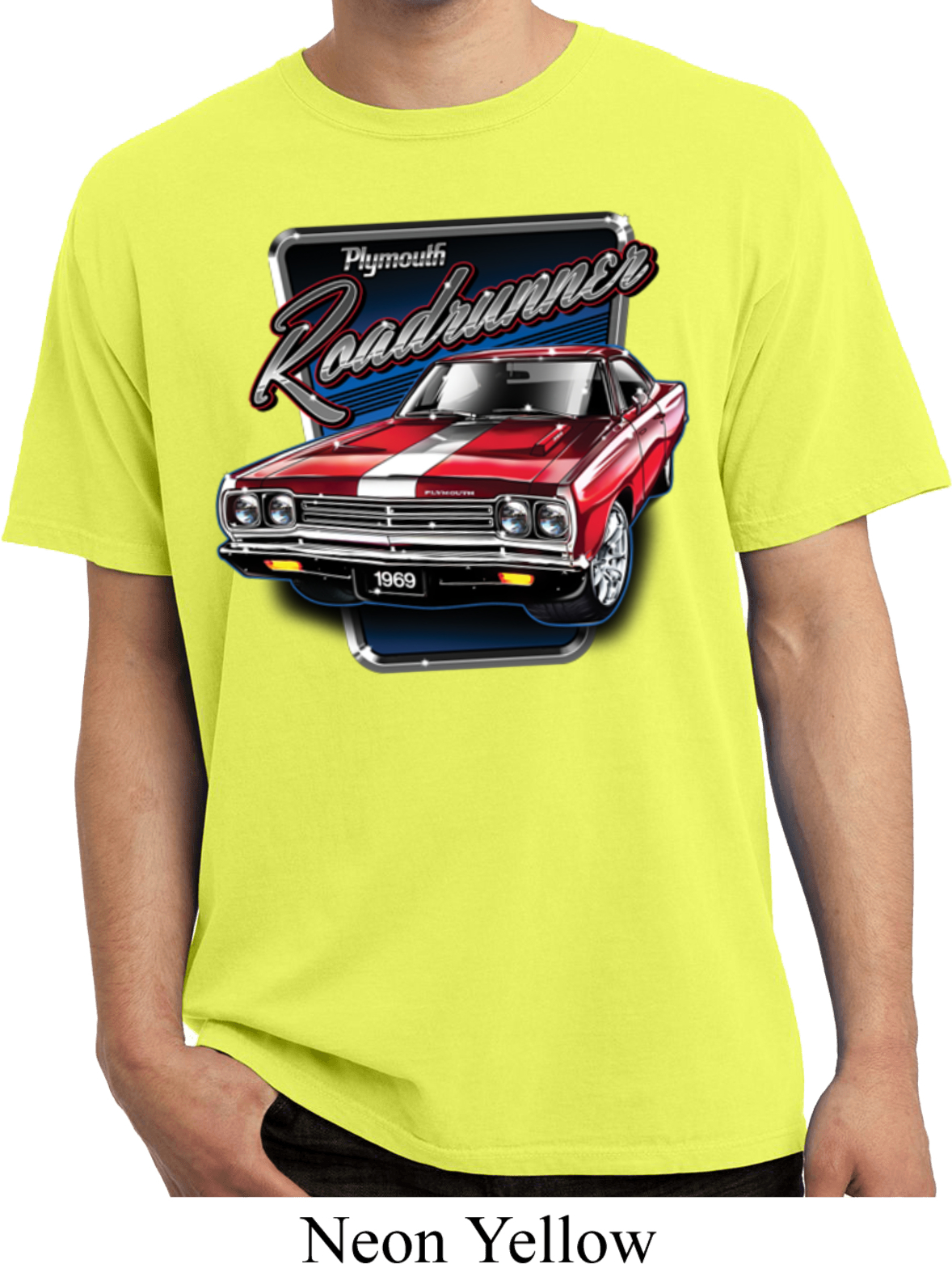 626554c2 Dodge Shirt Plymouth Roadrunner Pigment Dyed Tee T-Shirt - Plymouth  Roadrunner Mens Dodge Shirts