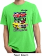 Dodge Shirt Vintage Chargers Pigment Dyed Tee T-Shirt
