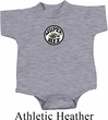 Dodge Super Bee Circle Logo Middle Print Baby Onesie