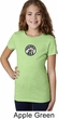 Dodge Super Bee Circle Logo Middle Print Girls Shirt