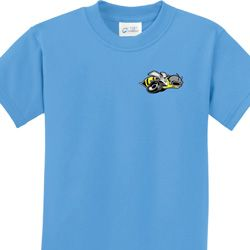 Dodge Super Bee Logo Pocket Print Kids Shirts