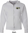 Dodge Super Bee Logo Pocket Print Mens Full Zip Hoodie