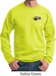 Dodge Super Bee Logo Pocket Print Sweat Shirt