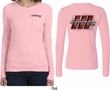 Dodge Tee Charger RT Logo (Front & Back) Ladies Long Sleeve