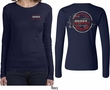 Dodge Vintage Dodge Sign (Front & Back) Ladies Long Sleeve