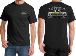 Dodge Yellow Plymouth Roadrunner Front & Back Shirts