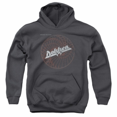 Dokken Kids Hoodie Breaking The Chains Charcoal Youth Hoody