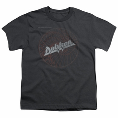 Dokken Kids Shirt Breaking The Chains Charcoal T-Shirt