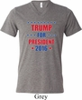 Donald Shirt Trump 2016 Mens Tri Blend V-neck