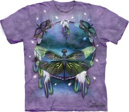 Dragonfly Shirt Tie Dye Dreamcatcher T-shirt Adult Tee