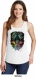 Dripping Neon Tiger Ladies Tank Top
