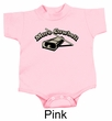 Drummer Romper More Cowbell Funny Musician Infant Baby Creeper