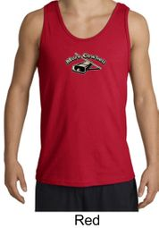 Drummer Tank More Cowbell Funny Musician Adult Tanktop