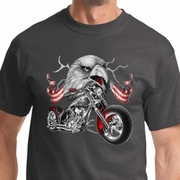 Eagle Biker Mens Biker Shirts