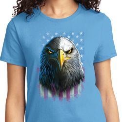 Eagle Stare Ladies Shirts
