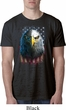 Eagle Stare Mens Burnout Shirt
