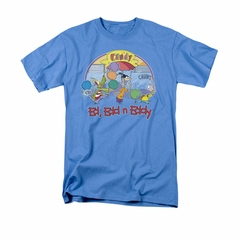 Ed, Edd N Eddy Shirt Jawbreakers Adult Carolina Blue Tee T-Shirt