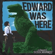 Edward Scissorhands Edward Was Here Shirts