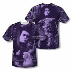 Edward Scissorhands Story Sublimation Shirt Front/Back Print