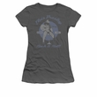 Elvis Juniors T-shirt - Rock and Roll Charcoal Grey Tee