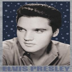 Elvis Presley Blue Sparkle Shirts