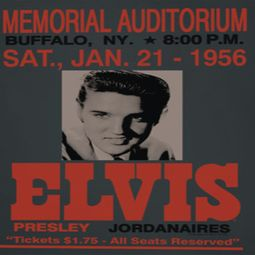 Elvis Presley Buffalo 1956 Shirts