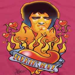 Elvis Presley Burning Love Shirts