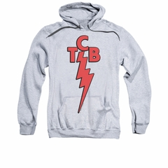 Elvis Presley Hoodie TCB Athletic Heather Sweatshirt Hoody