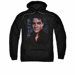 Elvis Presley Hoodie Tough Poster Black Sweatshirt Hoody