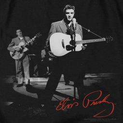 Elvis Presley In The Spot Light Guitar Shirts